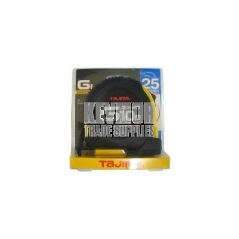 Tajima G-Lock Tape Measure 25mm x 10m Metric