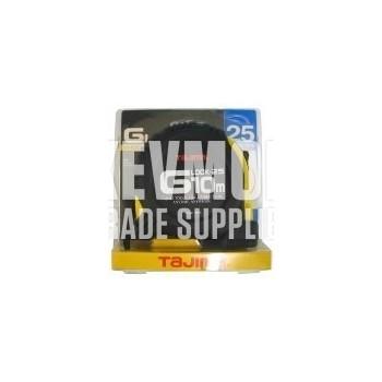 Tajima G-Lock Tape Measure 25mm x 10m Metric