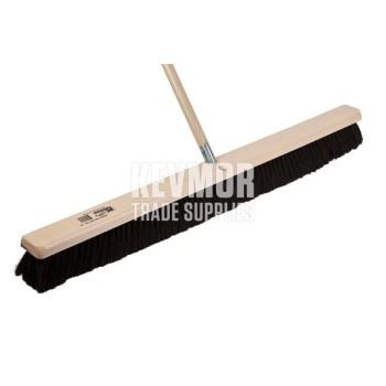 "Kraft 36"" All Purpose Horsehair Floor & Finish Broom"