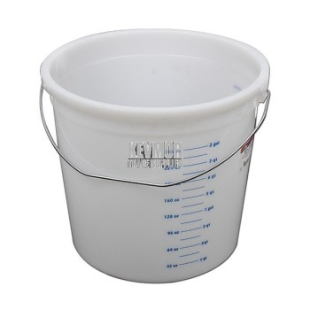Kraft 10 qt Plastic Pail with graduations