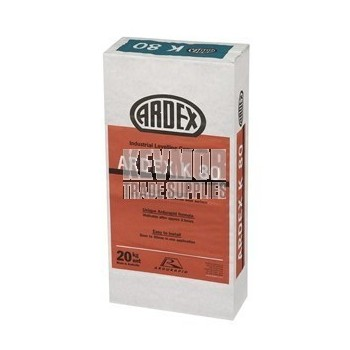 Ardex K80 Rapid Industrial Levelling Compound 20kg