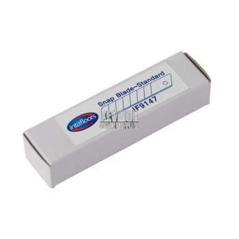 IF9147 Blade Snap 50 pkt Intafloors -Standard Silver- White Cardboard