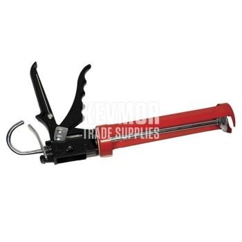 """UFS1225 9"""" Gun Caulking Deluxe - Skeleton Red"""