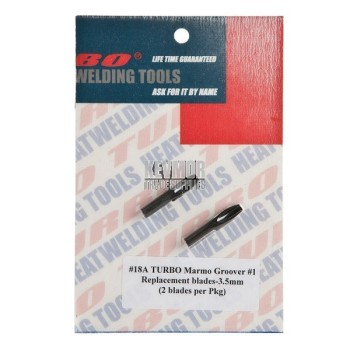 18A Replacement blades (3.5mm) - Turbo Marmo Groover