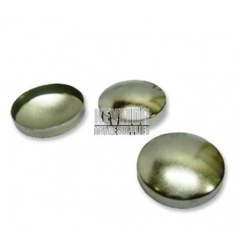 Button Mould Domed Steel Tops - Bag 1,000pcs (Imperial)