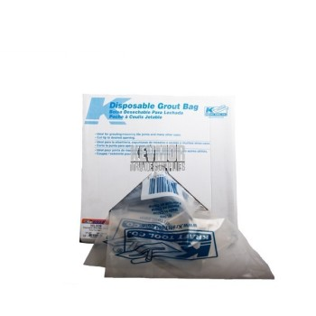 WL009 - Disposable Grout Bags - Kraft
