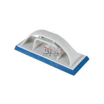 "ST362 Kraft 10"" x 3-3/4"" Grout Float w/-Plastic Handle"