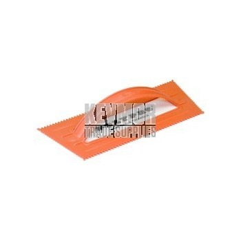 "PT-187 3/16"" Orange Plastic Trowel"