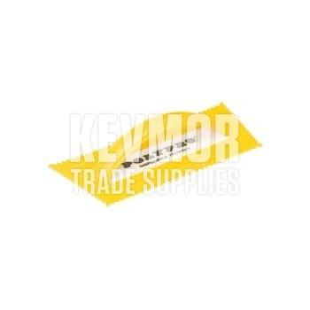 "PT-250 1/4"" Yellow Plastic Trowel"