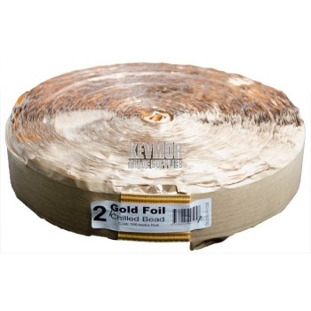 209-G Hot Melt Tape 65mm Silicon Gold Foil - 100m Roll