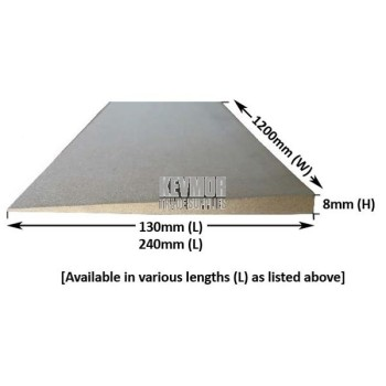 Ramp Edge - MDF - 8mm