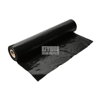 Plastic Builders Film 100 um x 100m Black