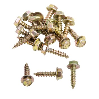 12g Type 17 Hex head Wood Screw