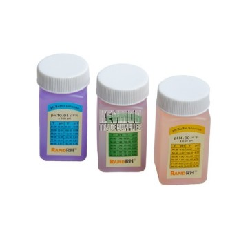 Rapid RH pH Refill Kit 3 x 50ml bottles