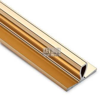 Safety Straight Edge Gold 2m IT075 Aluminium