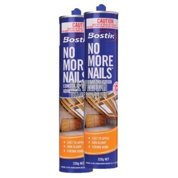 Bostik No More Nails Adhesive - 320gm