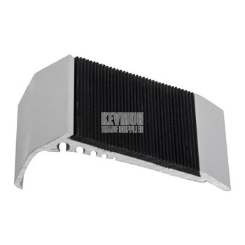 UFS66 61mm Slimline Aluminium Stair Nosing