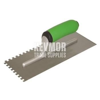 HC411PFCC Hi-Craft Square Notch Trowel w/-Proform Grip