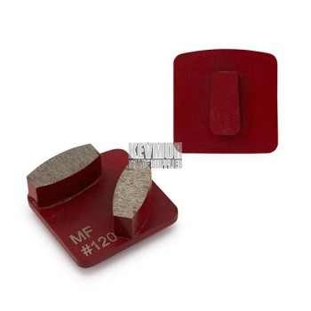 120 Grit Redilocks 100 Medium Bond RED