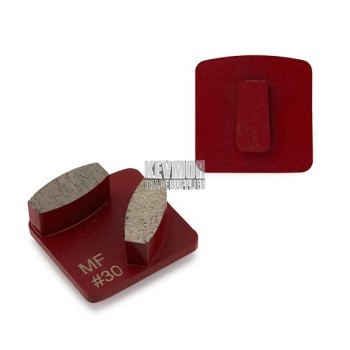 30 Grit Redilock 100 Medium Bond RED