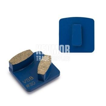 30 Grit Redilock 100 Very Soft Bond BLUE