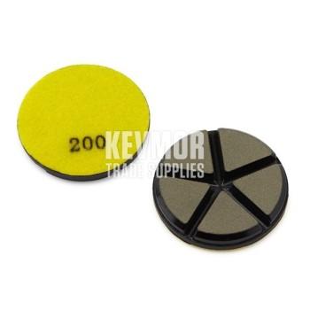 "3"" Ceramic Disc 200 Grit - YELLOW Diamond"