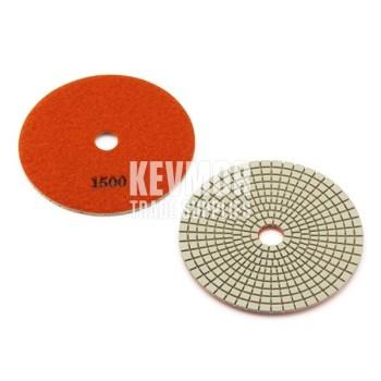 "5"" Polishing Pad 1500 Grit - Pro Series ORANGE Diamond"