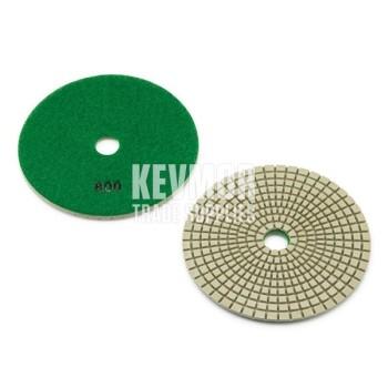 "5"" Polishing Pad 800 Grit - Pro Series GREEN Diamond"