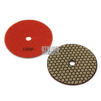 "5"" Honeycomb Polishing Pad 1500 Grit - Trade Series ORANGE Diamond"