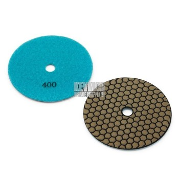 "5"" Honeycomb Polishing Pad 400 Grit - Trade Series BLUE Diamond"