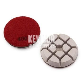"""3"""" Resin Pad 400 Grit - Trade Series RED Diamond"""