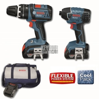 Bosch 18V SBR 2 Piece Kit Drill/Driver