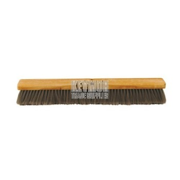 CC204-01 Broom flagged - WITHOUT handle Kraft