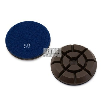 """3"""" Resin Pad 50 Grit - Trade Series 200 Diamond"""