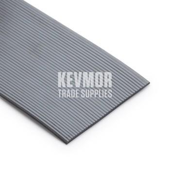 Stair Nosing Insert PVC 63mm Light Grey