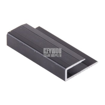 SFS314MB - Junior End Trim 5mm Matte Black