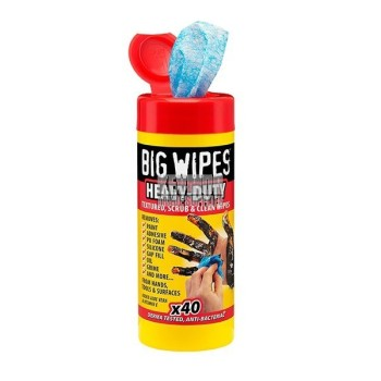 Big Wipes Heavy Duty 4x4 Formula- 40pkt