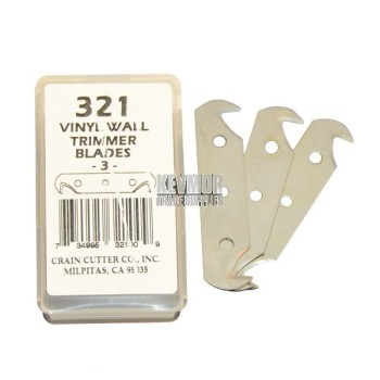 Crain 321 Wall Trimmer Blades 3 pkt