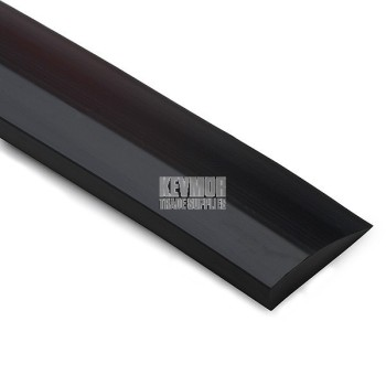 6mm Tile Trim Reducer/Diminishing Strip - Black