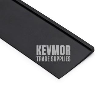 Carpet to Vinyl Transition/Reducer Ramp PVC 2mm Black