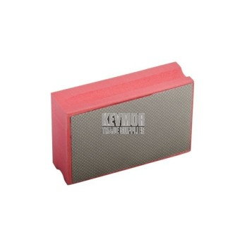 Hand Sanding Pad, Diamond Polishing Red 200 Grit