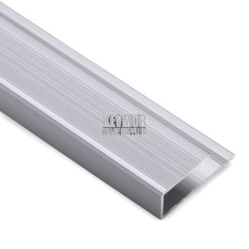 SFS314S - Junior End Trim 5mm Matte Silver
