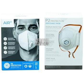AIR+ Disposable P2 Mask Package available at Kevmor Australia