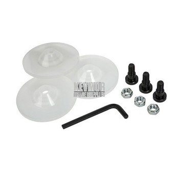 Universal Flooring Solutions 1385 3 Wheel Replacement set