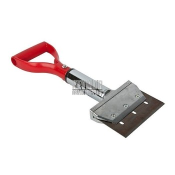 Universal Flooring Solutions 1916 6in Extendable Scraper with Red Spade Handle