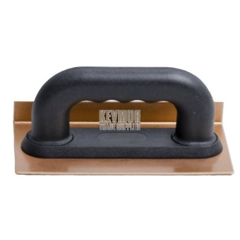 Rub Brick - 36 Grit Carbide Chip - 20cmx10cmx25mm - Steel Sanding Trowel -Bronze / Black Handle