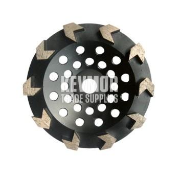 Husqvarna Cupwheel 125mm Medium Bond G1045 8Seg