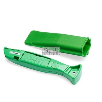 Green Knife With 20 Straight Blades