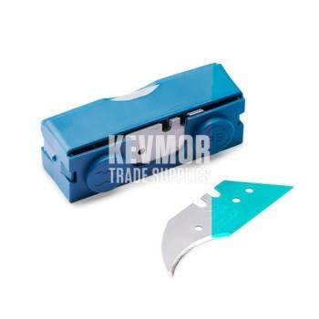 Green Box Concave Blades 20 pc dispenser Janser