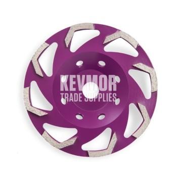30 Grit Soft Purple - 7 Segment